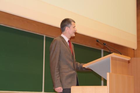 Uvodni pozdrav gostitelja - dekan prof. dr. Nikolaj Zimic
