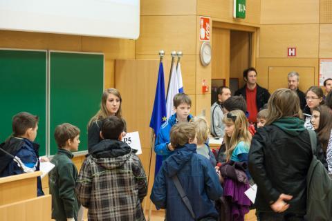 Razdelitev učencev po učilnicah