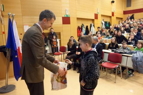 1. nagrada v kategoriji Bobrček: Luka Simčič