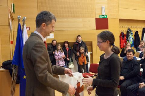 3. nagrada v kategoriji Mladi bober: Katja Logar