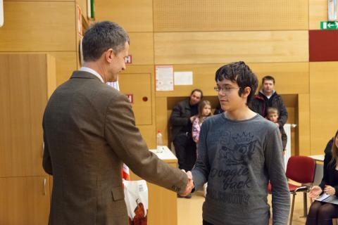 2. nagrada v kategoriji Mladi bober: Jakob Jurij Snoj