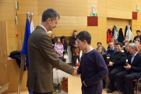 1. nagrada v kategoriji Mladi bober: Žiga Željko
