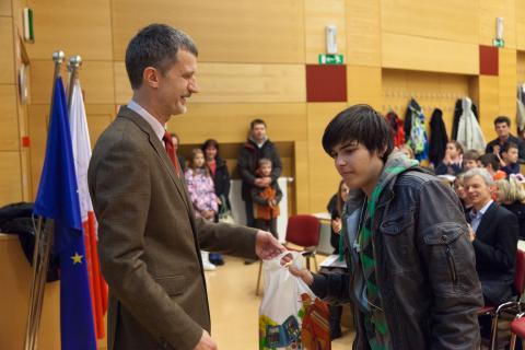 1. nagrada v kategoriji Bober: Filip Koprivec