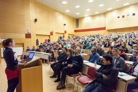 Otvoritev na fakulteti za računalništvo in informatiko UL