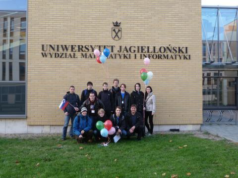 Univerza v Ljubljani takoj po tekmovanju
