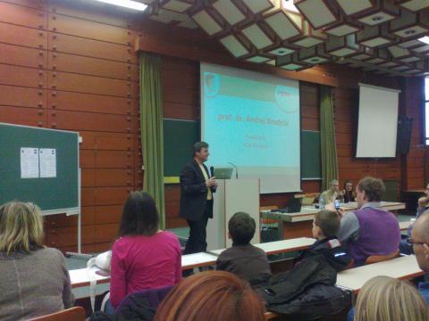 Predsednik ACM Slovenija - dr. Andrej Brodnik